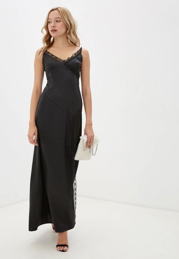 женское вечерние платье little mistress, черное