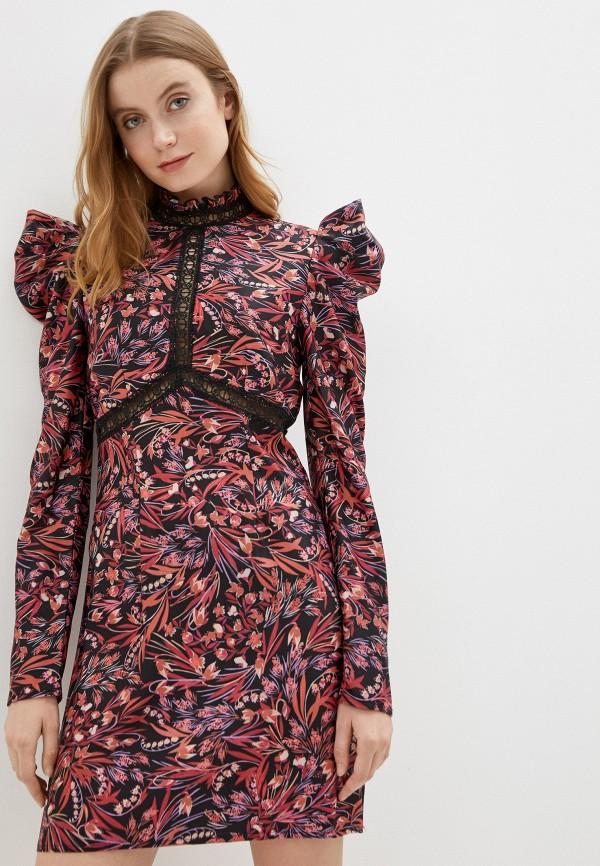 женское вечерние платье little mistress, разноцветное