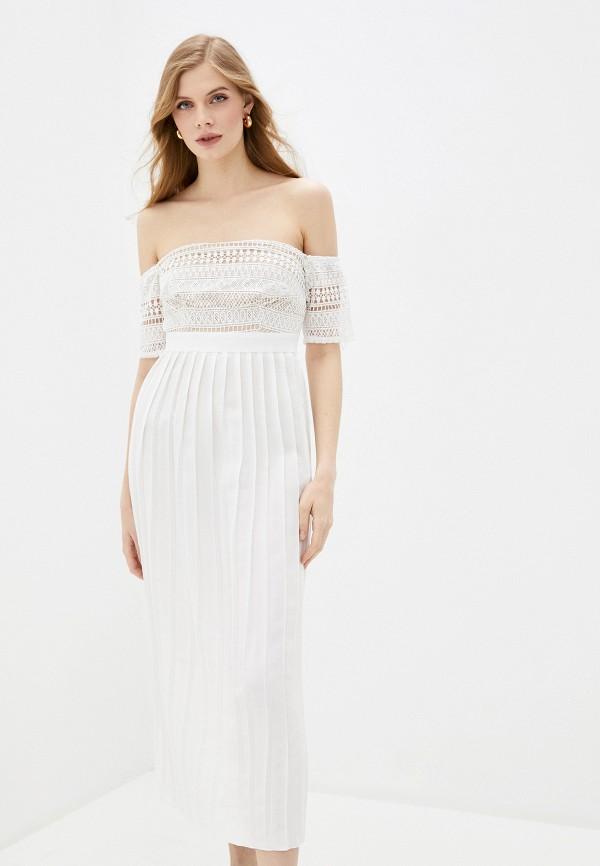 женское платье little mistress, белое