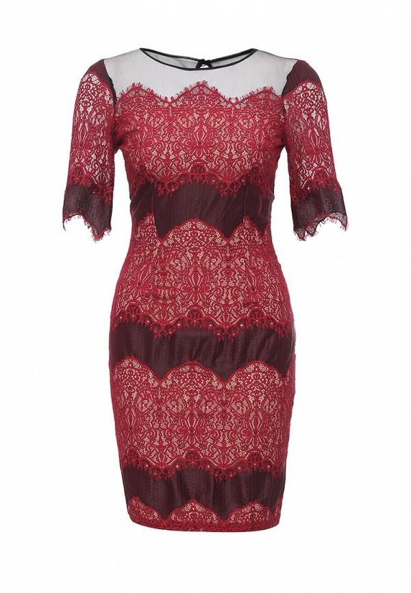 Купить Платье Little Mistress, LI005EWKPG48, бордовый, Осень-зима 2016/2017