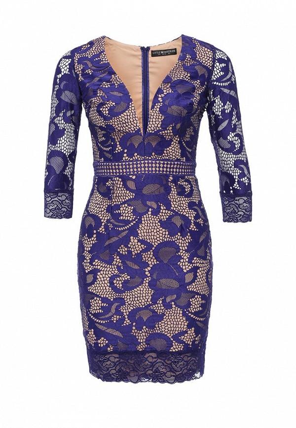 Купить Платье Little Mistress, LI005EWKPG52, синий, Осень-зима 2016/2017