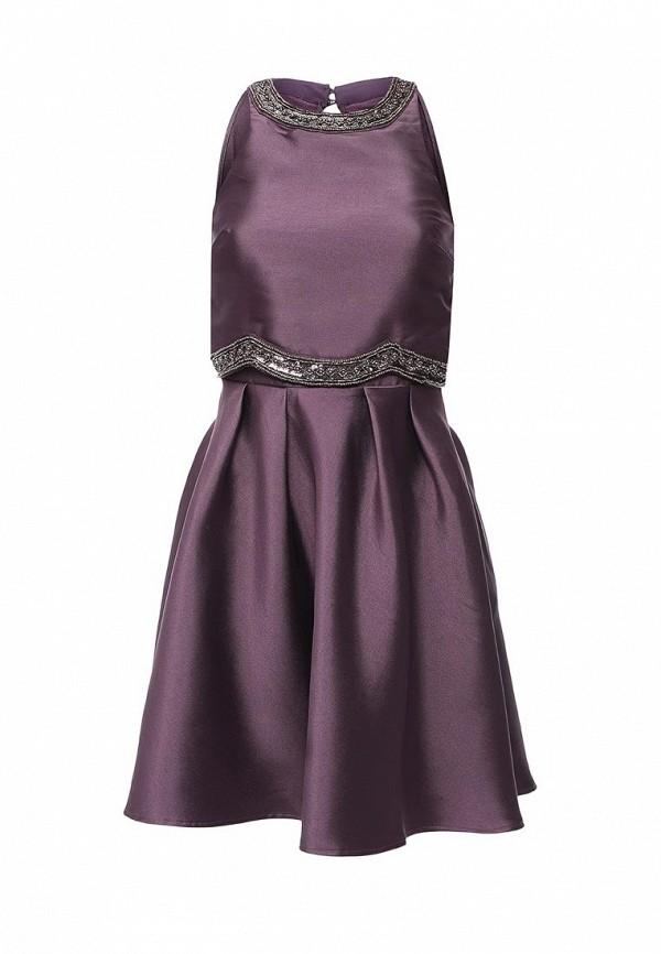 Купить Платье Little Mistress, LI005EWNLE38, фиолетовый, Осень-зима 2016/2017