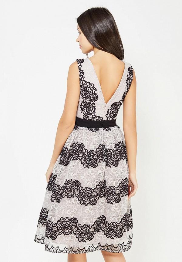 Фото 3 - женское вечернее платье Little Mistress серого цвета