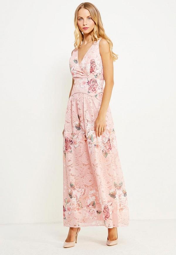 Платье Little Mistress, li005ewuxq53, розовый, Осень-зима 2017/2018  - купить со скидкой