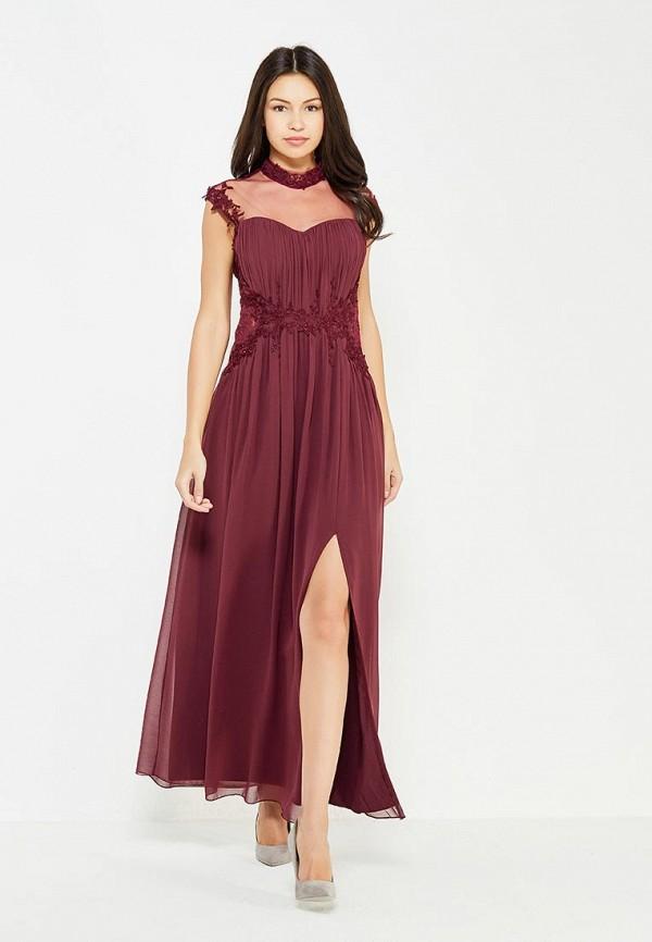Купить Платье Little Mistress, li005ewyev29, бордовый, Осень-зима 2017/2018