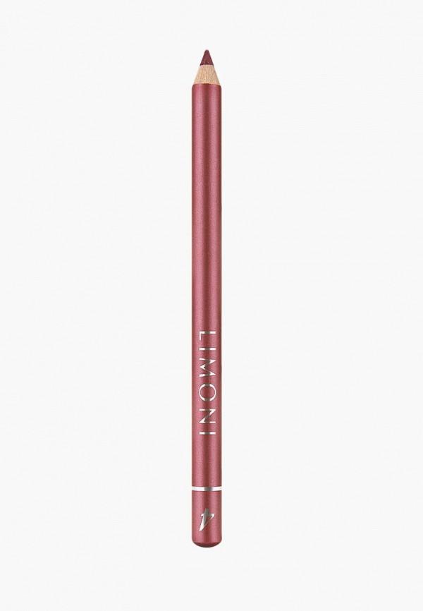 карандаш для губ limoni, бордовый