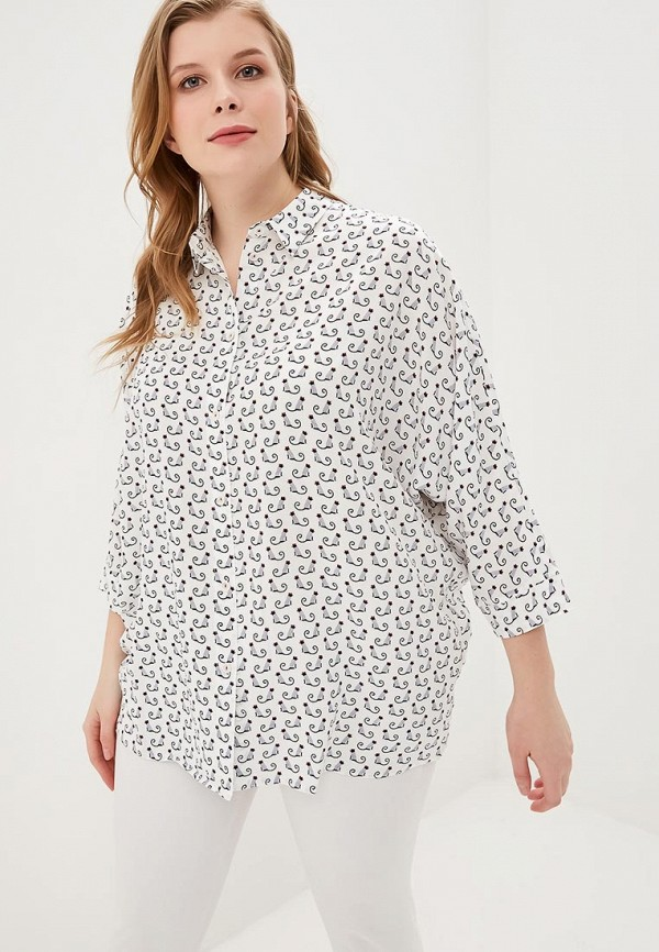 женская блузка lina, белая