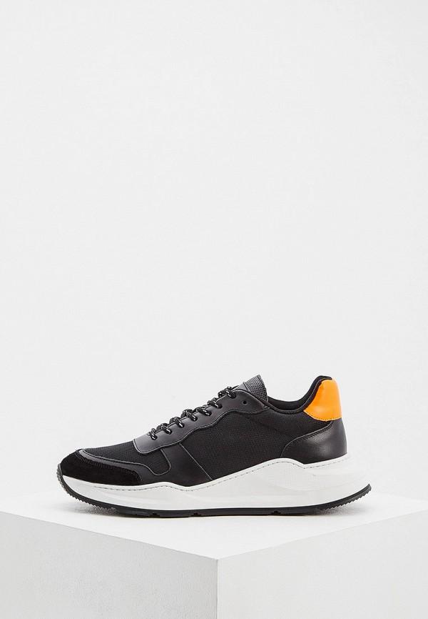 мужские низкие кроссовки liu jo, черные