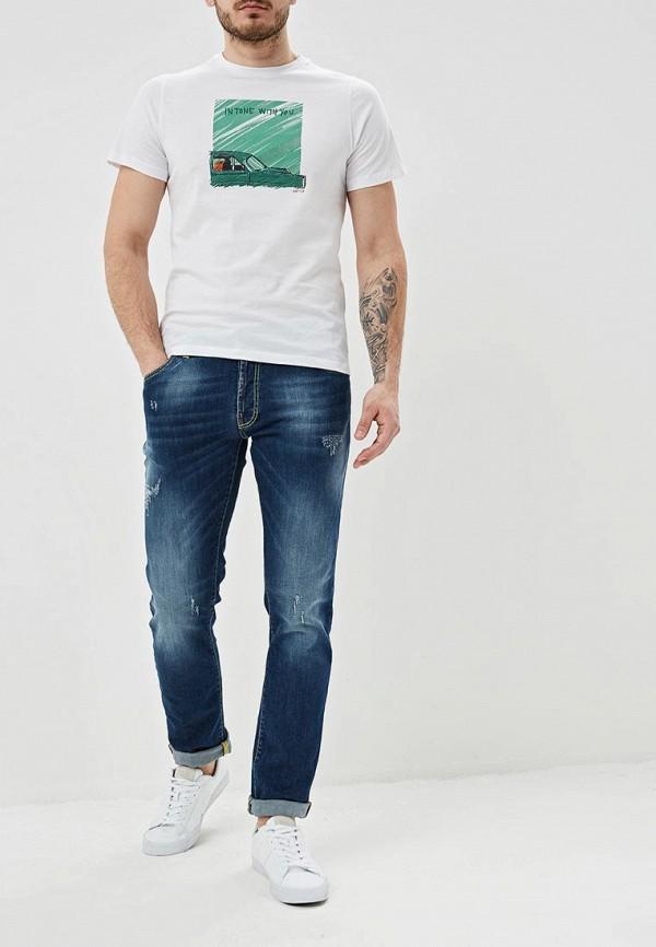 Фото 2 - мужские джинсы Liu Jo Uomo синего цвета