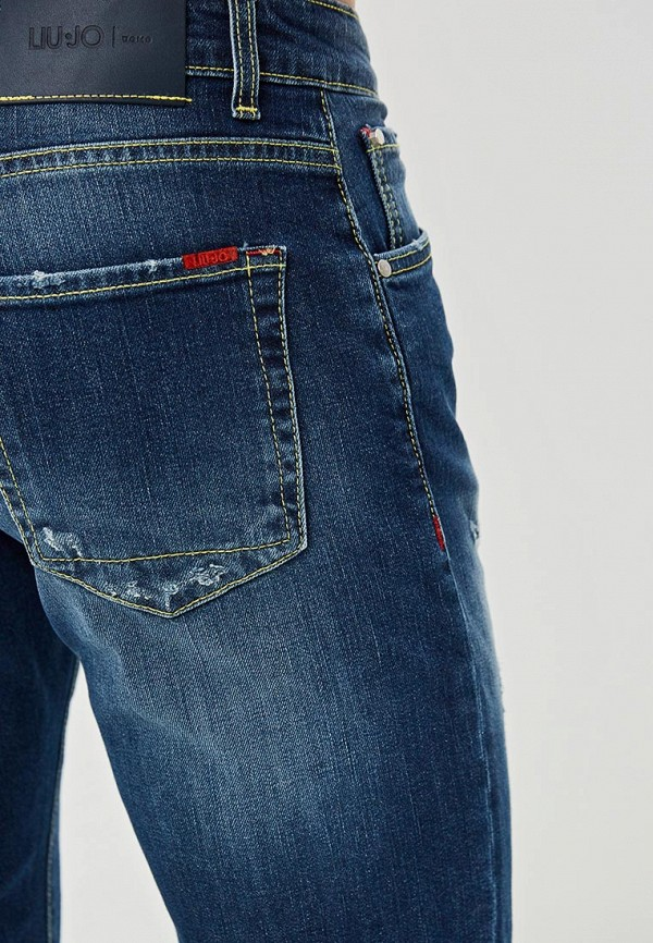 Фото 4 - мужские джинсы Liu Jo Uomo синего цвета
