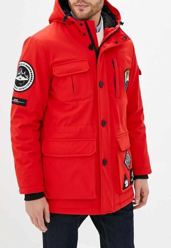мужская куртка liu jo, красная