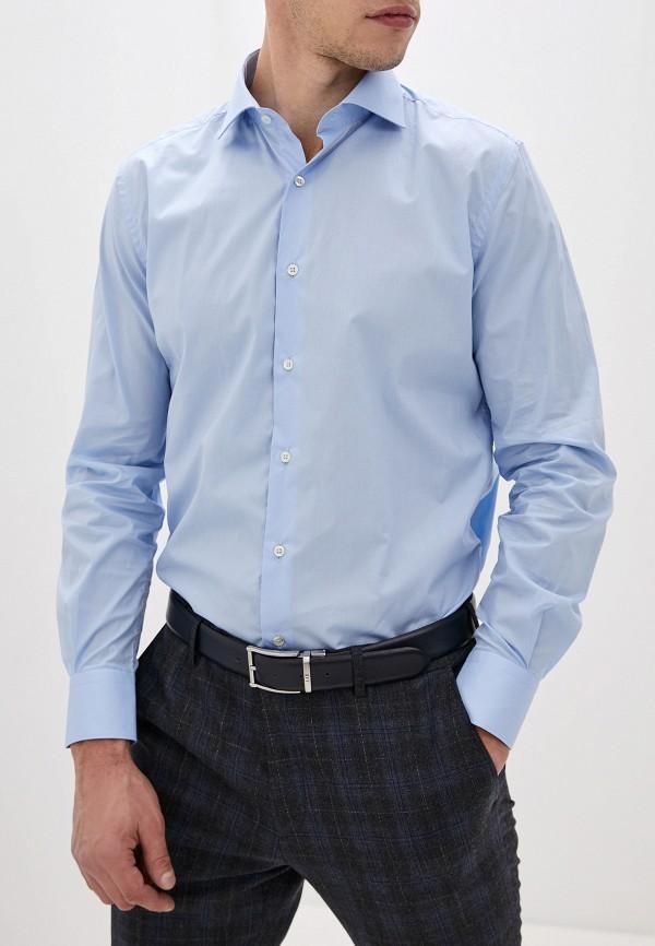 мужская рубашка с длинным рукавом liu jo, голубая