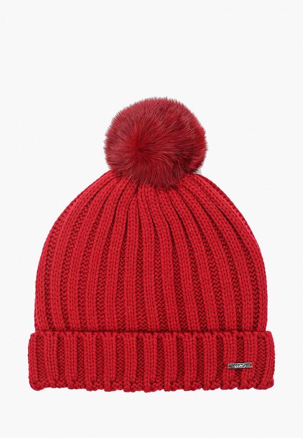шапка liu jo junior для девочки, бордовая