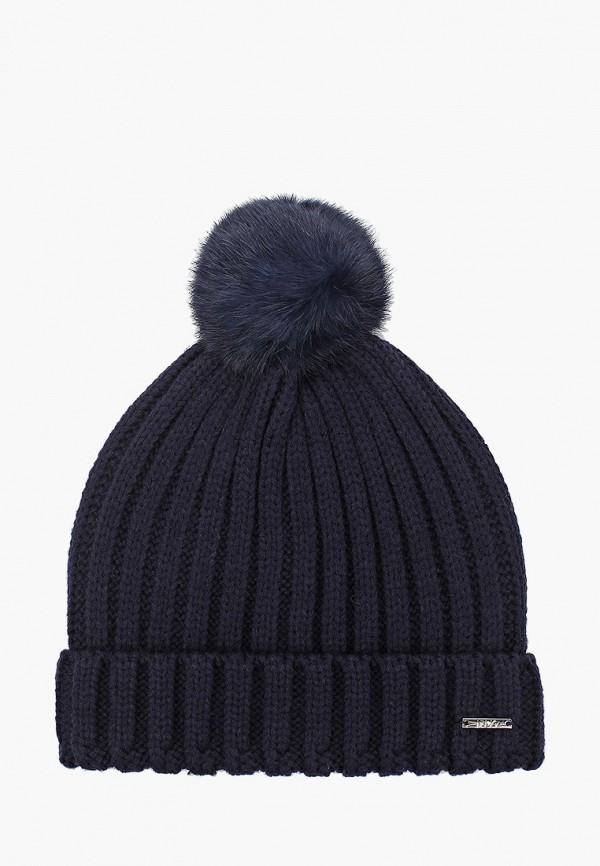 шапка liu jo junior для девочки, синяя