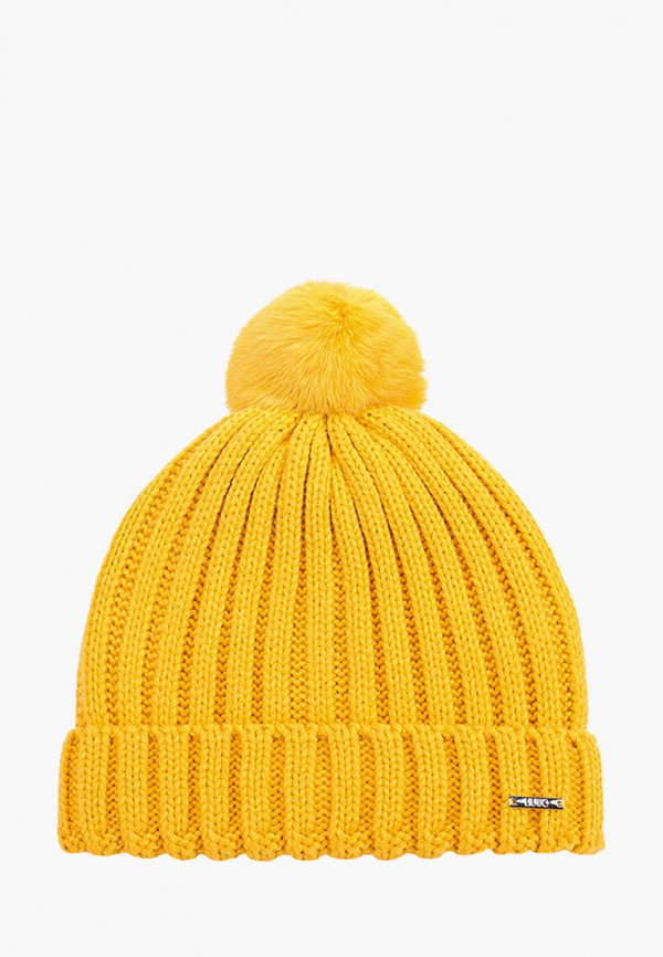 шапка liu jo junior для девочки, желтая