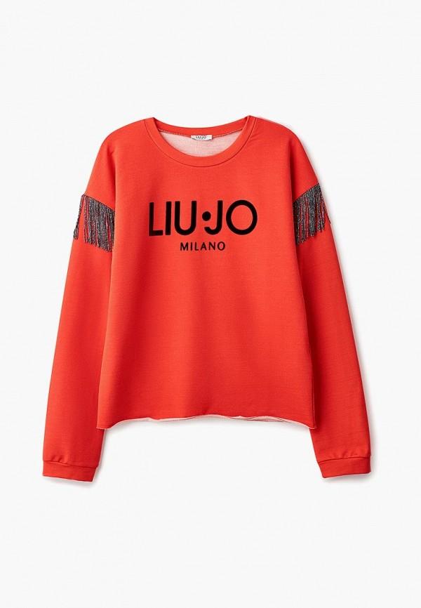Свитшот Liu Jo Junior Liu Jo Junior LI034EGBSMX4 брюки liu jo junior liu jo junior li034egvby42