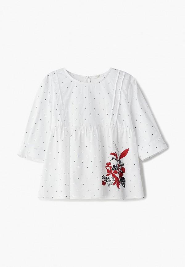 блузка liu jo junior для девочки, белая