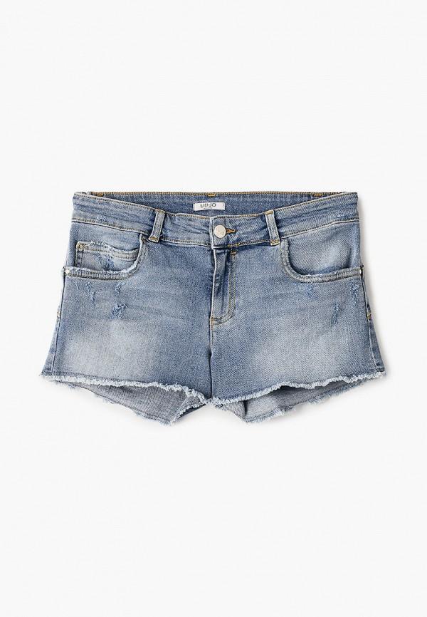 Шорты джинсовые Liu Jo Junior Liu Jo Junior LI034EGICAM7 шорты liu jo 8 марта женщинам