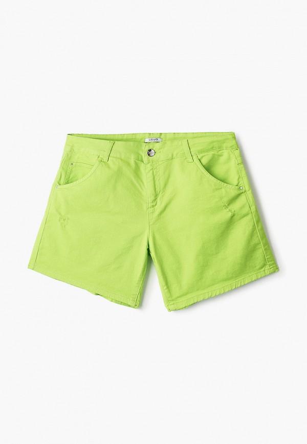 шорты liu jo junior для девочки, зеленые