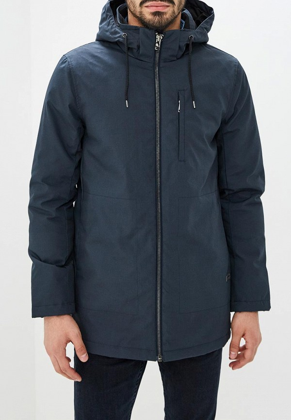 Купить Куртка утепленная Lindbergh, li035embzjc0, синий, Осень-зима 2018/2019