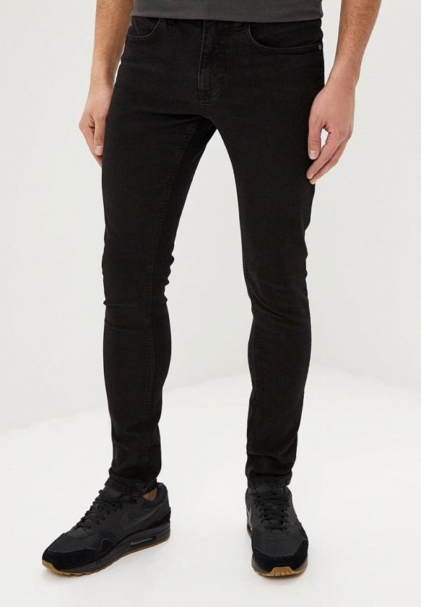 мужские зауженные джинсы lindbergh, черные