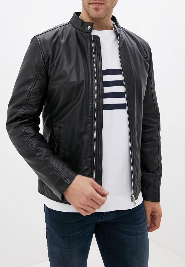 купить Куртка кожаная Lindbergh Lindbergh LI035EMGBHQ5 дешево