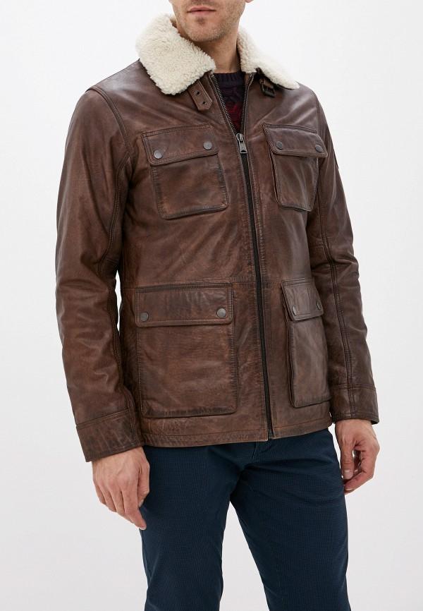 купить Куртка кожаная Lindbergh Lindbergh LI035EMGBHQ6 дешево