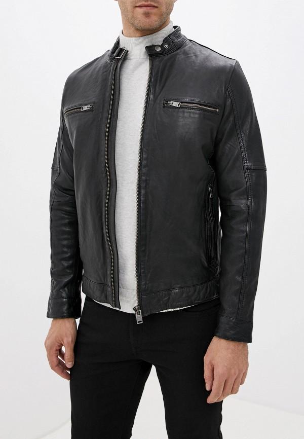 купить Куртка кожаная Lindbergh Lindbergh LI035EMGBHQ7 дешево