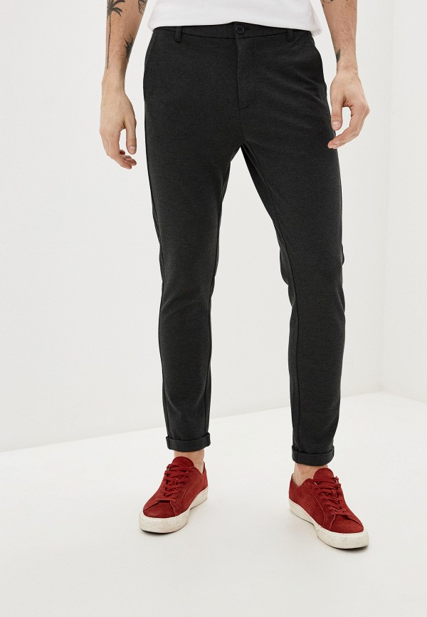 мужские повседневные брюки lindbergh, хаки
