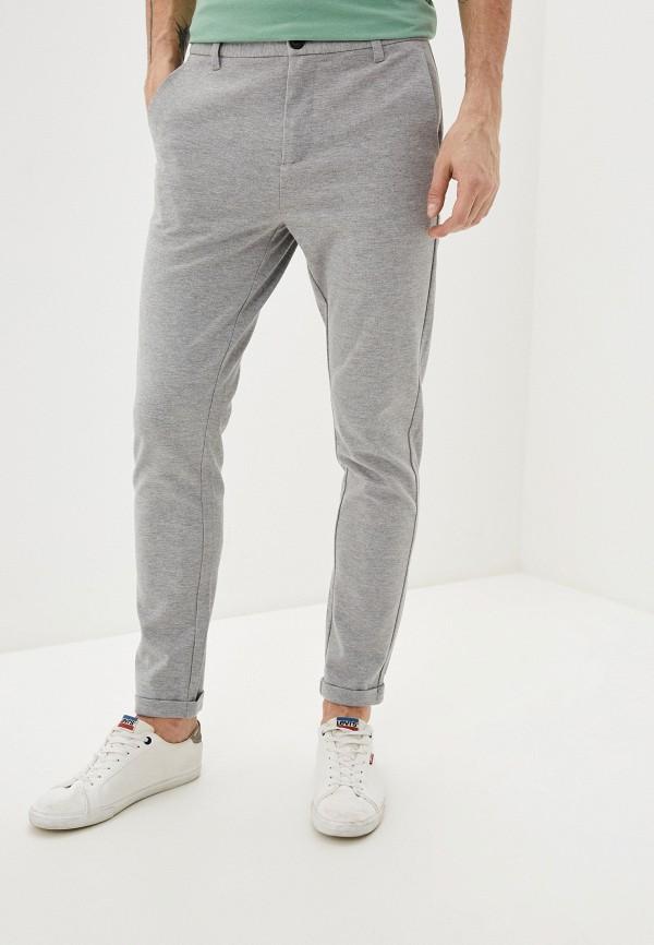 мужские повседневные брюки lindbergh, серые