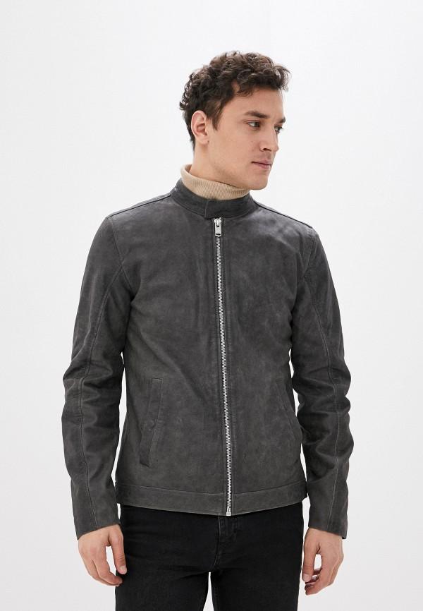 мужская куртка lindbergh, серая