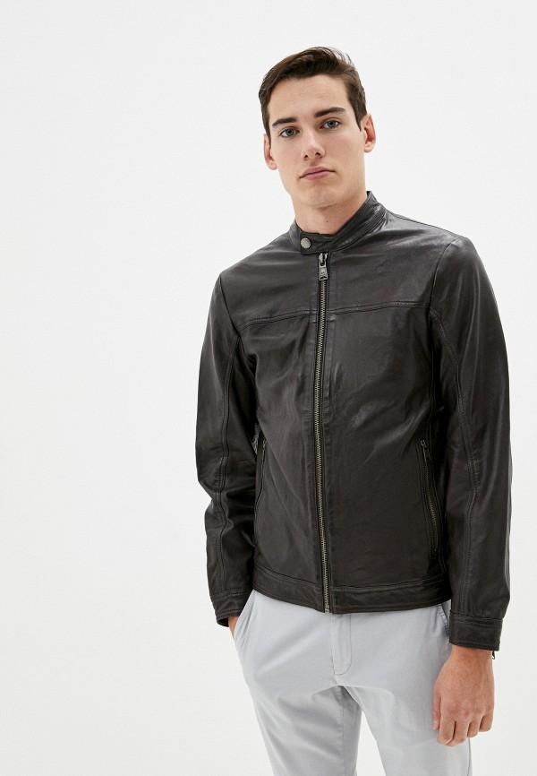 мужская куртка lindbergh, коричневая