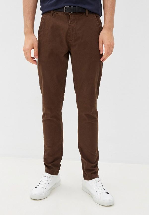 мужские повседневные брюки lindbergh, коричневые