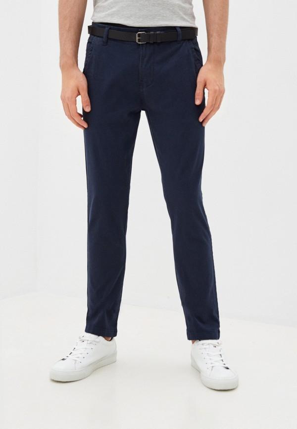 мужские брюки чинос lindbergh, синие