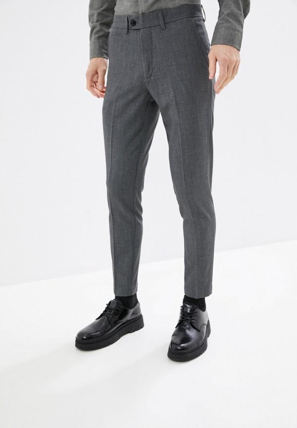 мужские классические брюки lindbergh, серые