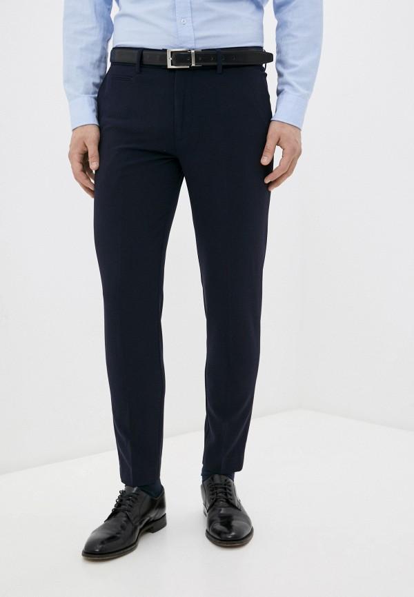 мужские классические брюки lindbergh, синие