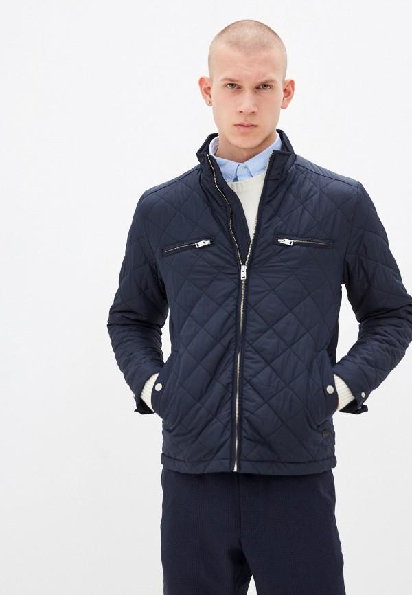 мужская куртка lindbergh, синяя