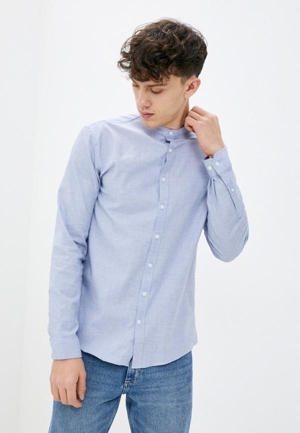 мужская рубашка lindbergh, голубая