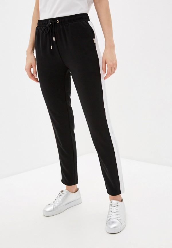 женские повседневные брюки liu jo sport, черные