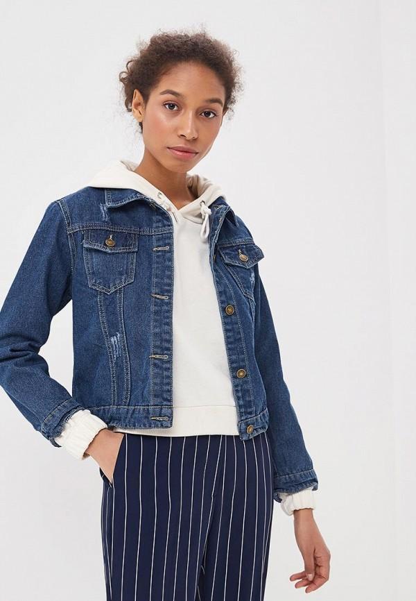 Куртка джинсовая Liana Liana LI039EWBHJW2 куртка джинсовая liana liana li039ewbhjw9