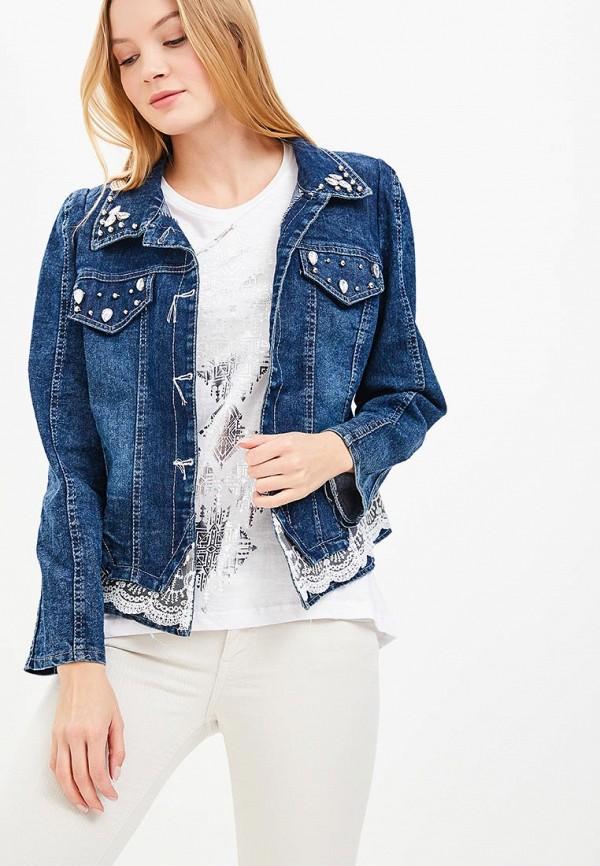 Куртка джинсовая Liana Liana LI039EWBHJX1 пальто liana liana li039ewbsbc3