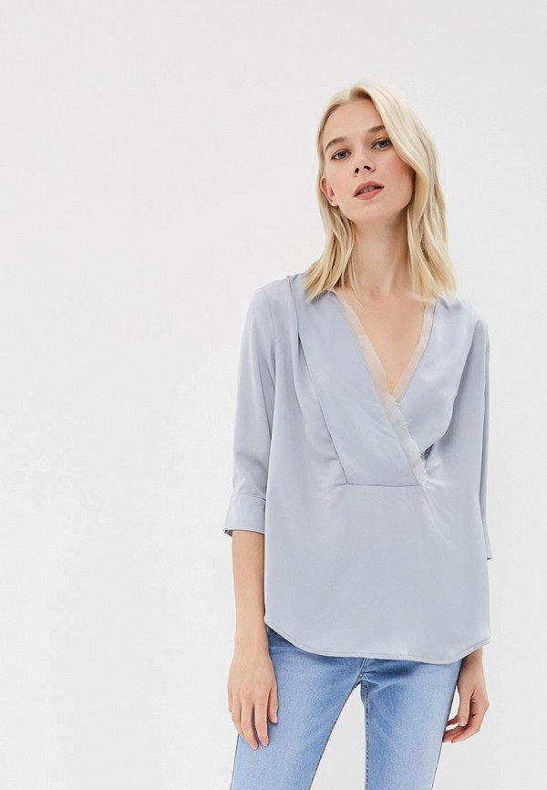 Купить Блуза Liana, li039ewbqsf9, серый, Весна-лето 2018
