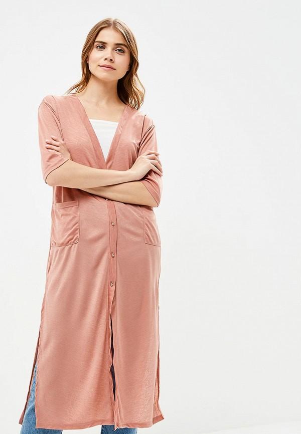 женская туника liana, розовая