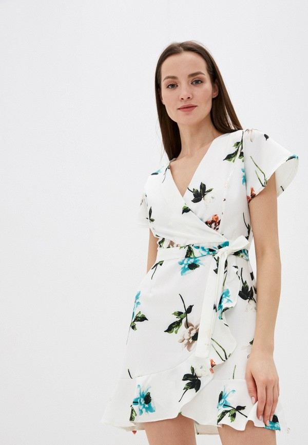 женское повседневные платье liana, белое