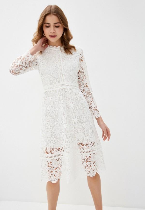 женское платье liana, белое