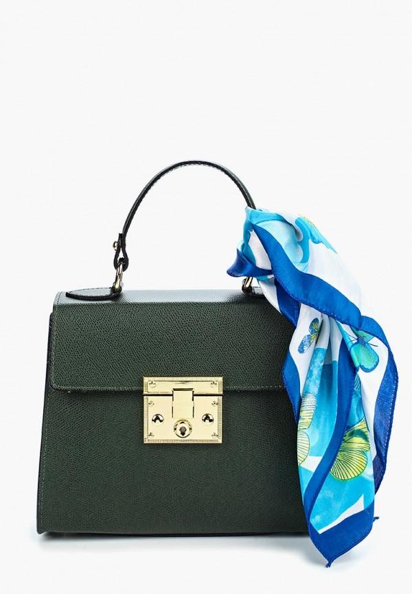 женская сумка lisa minardi, зеленая