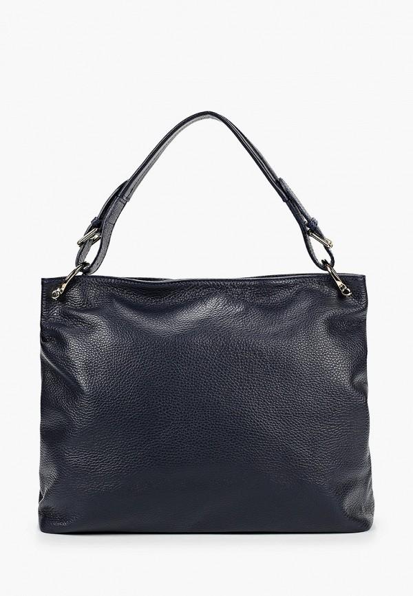 женская сумка lisa minardi, синяя