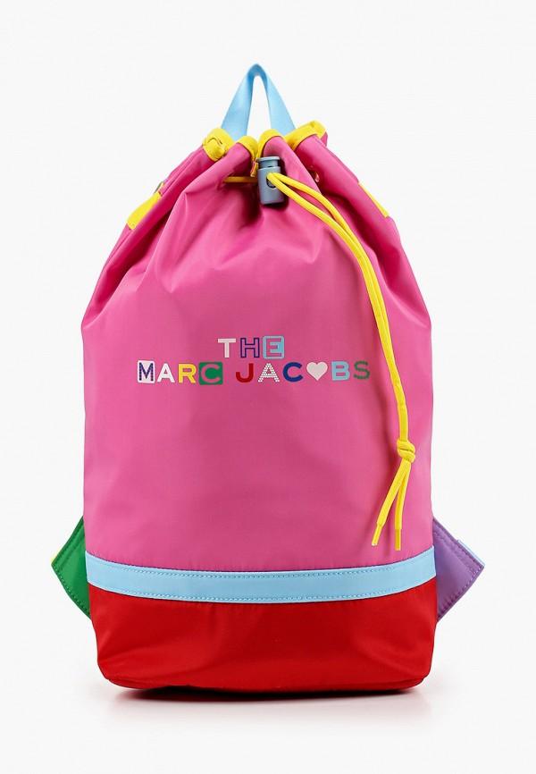 рюкзак marc jacobs для девочки, розовый