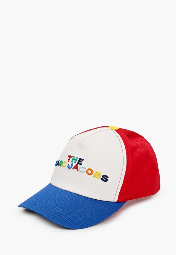 бейсболка marc jacobs для мальчика, разноцветная
