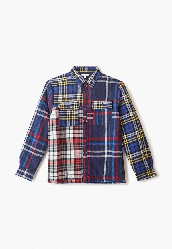 рубашка little marc jacobs для мальчика, синяя